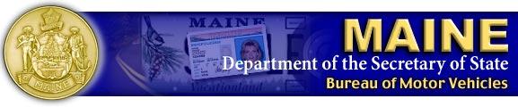 Maine Bureau Of Motor Vehicles